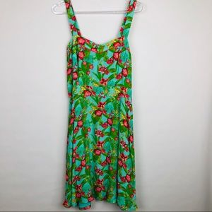 Matilda Jane Hello Lovely Tropical Floral Dress  8